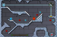 Fireboy and Watergirl 3:Ice Temple